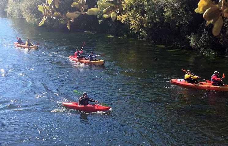 Canoas Madrid, kayak, piraguismo, descenso del río Tormes en Salamanca y  Gredos